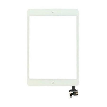Vitre Tactile pour iPad Mini et Mini 2 Blanc Pré Assemblée