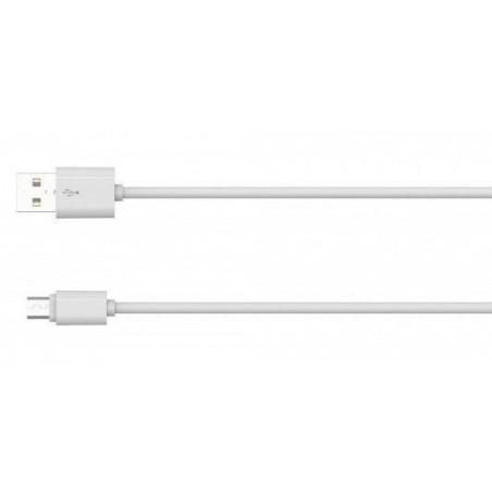 Câble Rond Micro-USB LDNIO SY-03S Blanc 1m