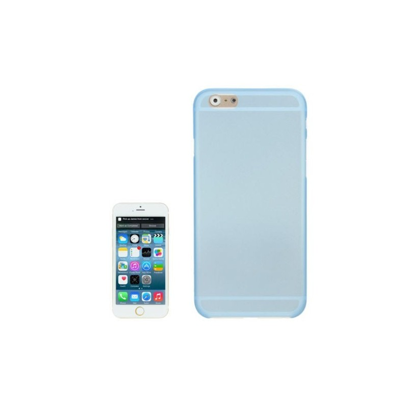 Coque Mate Slim pour iPhone 6/6S Bleu