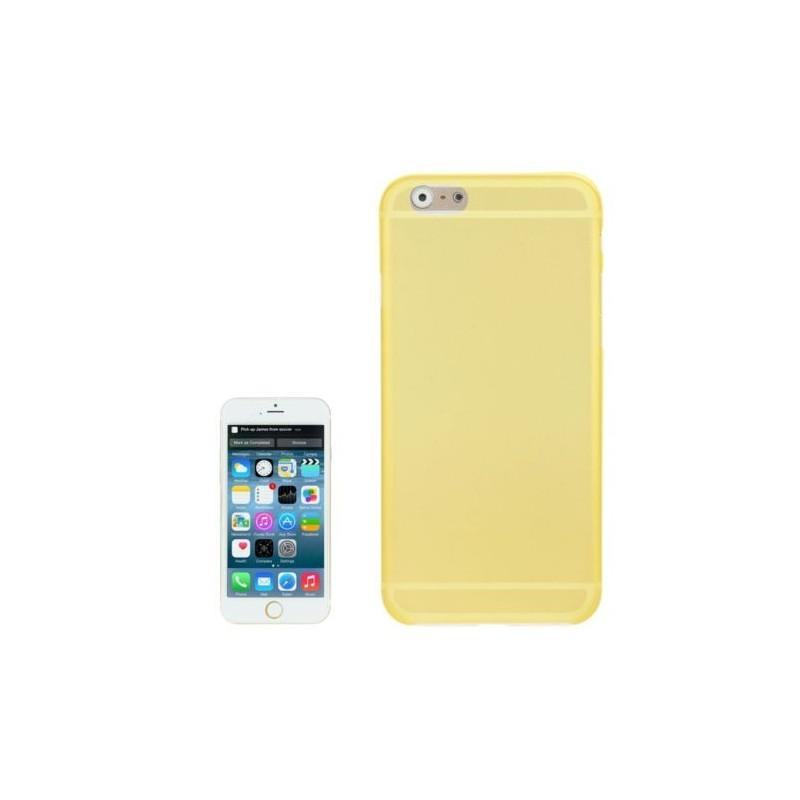 Coque Mate Slim pour iPhone 6/6S Plus Jaune