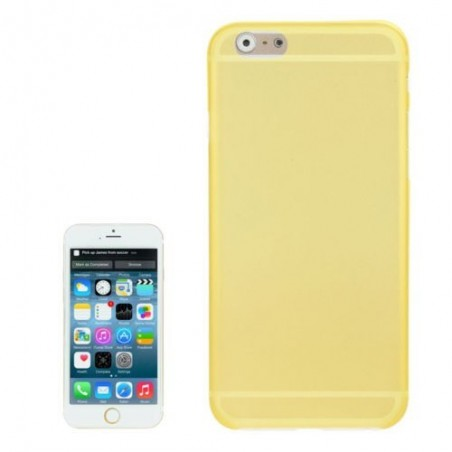Coque Mate Slim pour iPhone 6/6S Plus Jaune