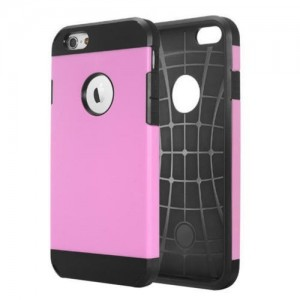 Coque Tough Armor pour iPhone 6/6S Rose