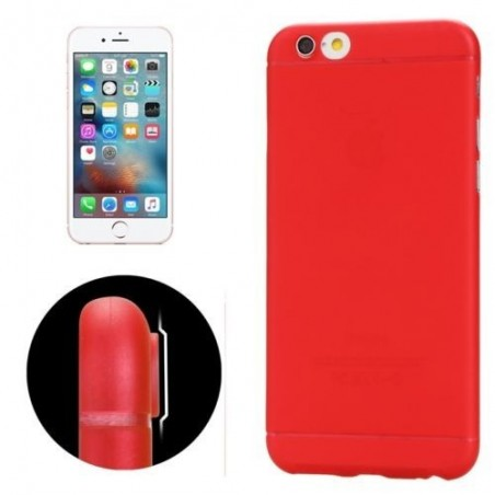 Coque Ultra Slim Translucide pour iPhone 6/6S Rouge
