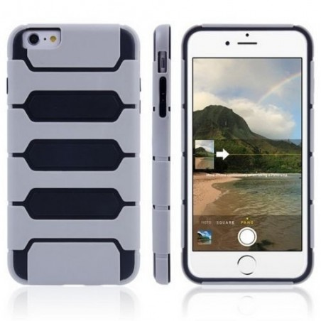 Coque Tank Series pour iPhone 6/6S Plus Gris