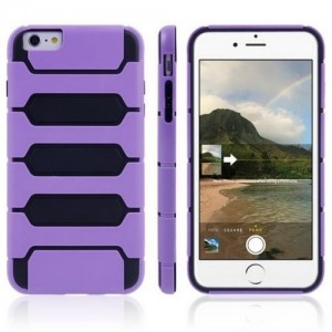 Coque Tank Series pour iPhone 6/6S Plus Violet