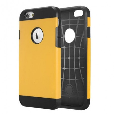 Coque Tough Armor pour iPhone 6/6S Jaune
