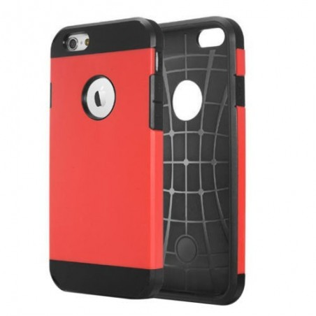 Coque Tough Armor pour iPhone 6/6S Rouge