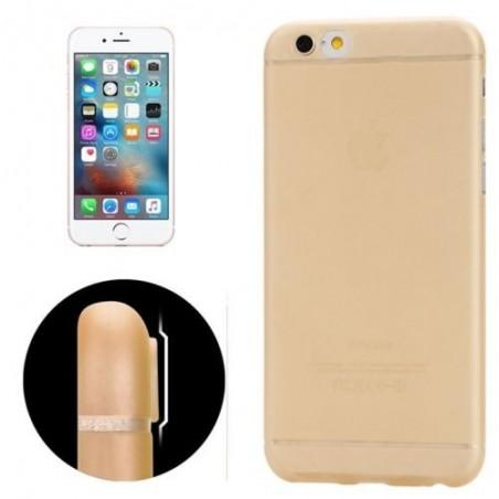 Coque Ultra Slim Translucide pour iPhone 6/6S Plus Orange