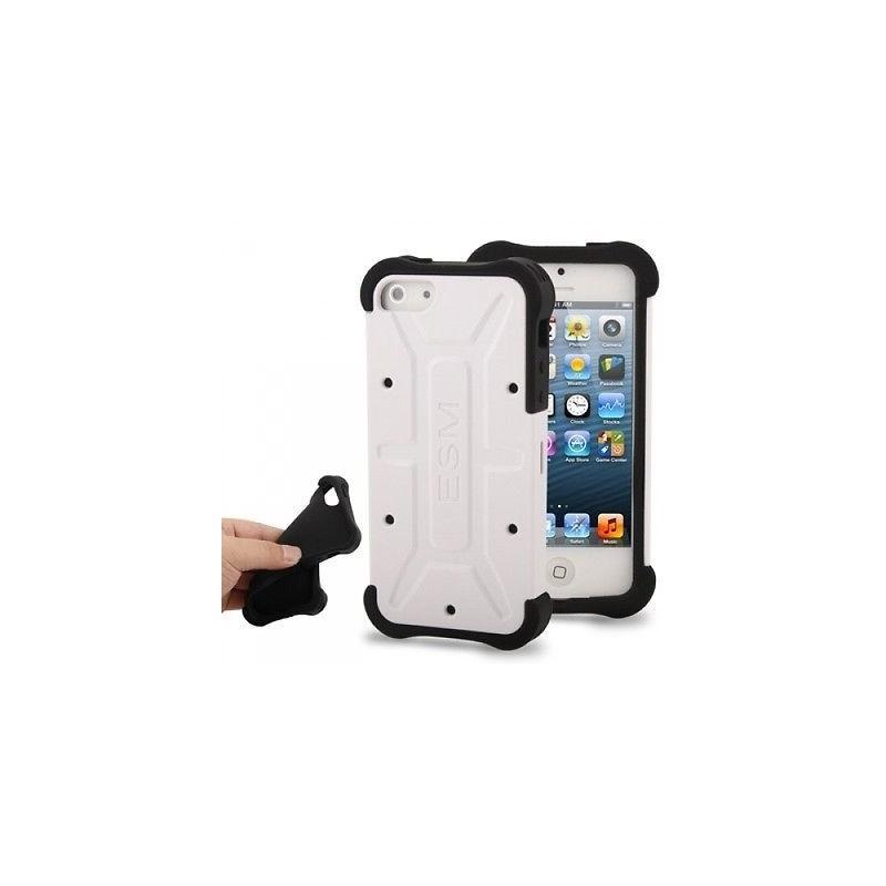 Coque Rigide ESM pour iPhone 5 Blanc