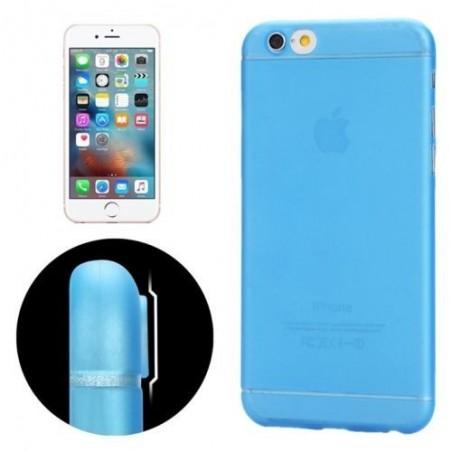 Coque Ultra Slim Translucide pour iPhone 6/6S Plus Bleu