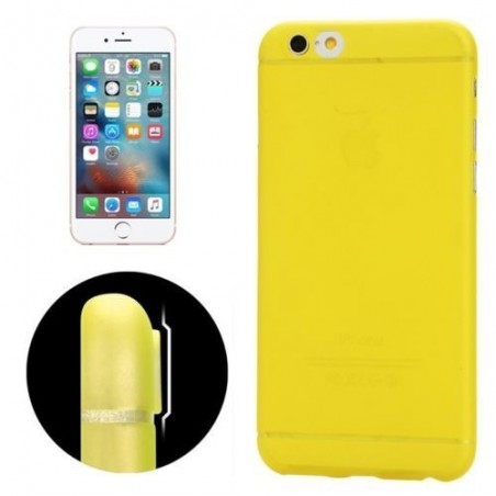 Coque Ultra Slim Translucide pour iPhone 6/6S Jaune