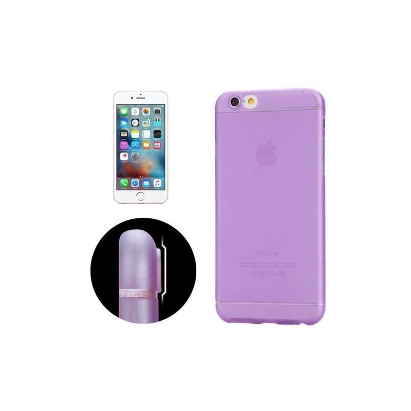 Coque Ultra Slim Translucide pour iPhone 6/6S Plus Violet