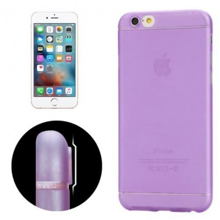 Coque Ultra Slim Translucide pour iPhone 6/6S Violet