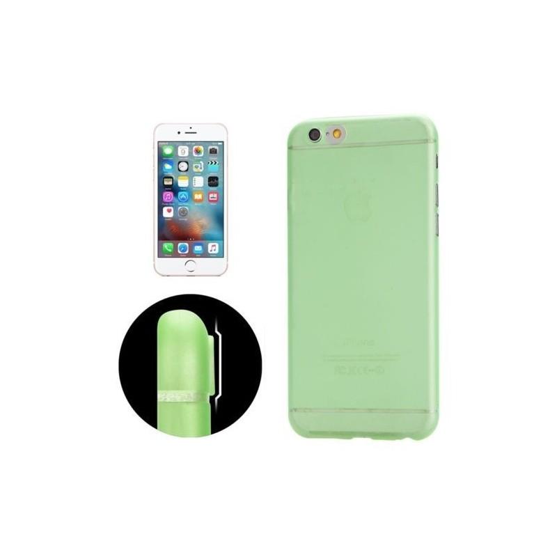 Coque Ultra Slim Translucide pour iPhone 6/6S Vert