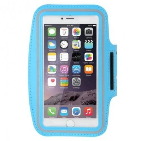 Brassard Armband Sport Haweel pour Smartphones Bleu Ciel