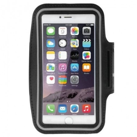 Brassard Armband Sport Haweel pour Smartphones Noir