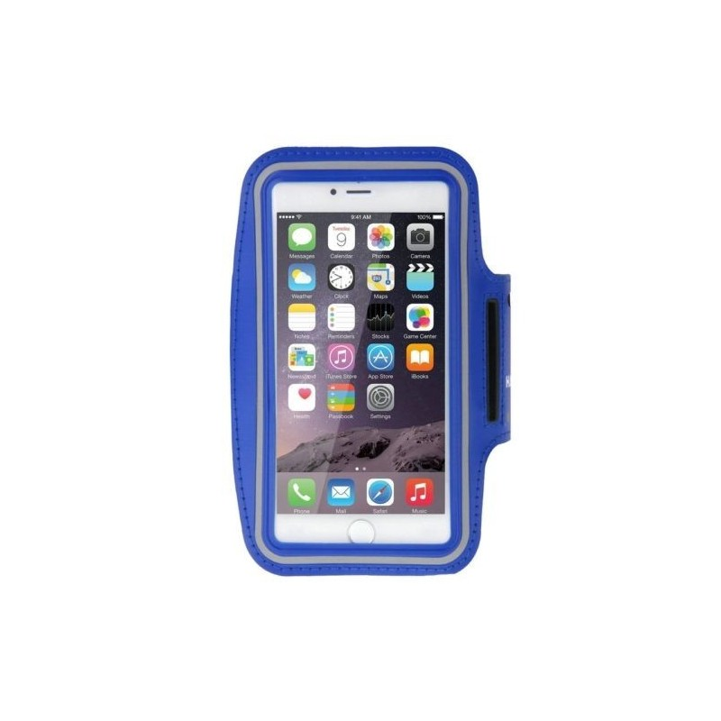 Brassard Armband Sport Haweel pour Smartphones Bleu