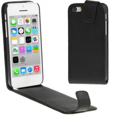 Etui à Clapet Ultra-Fin pour iPhone 5C Noir