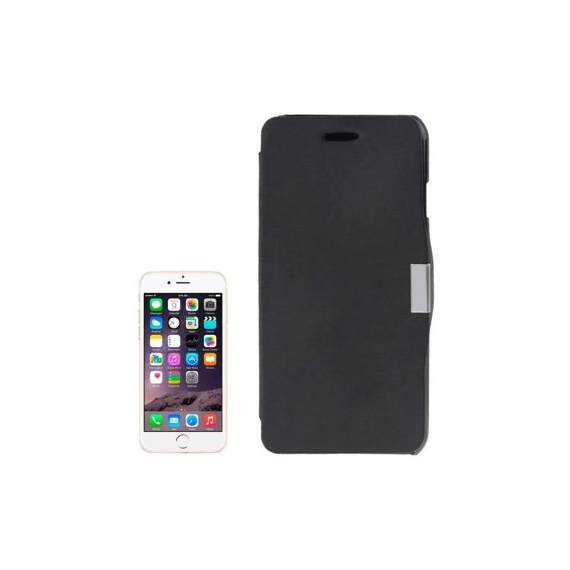 Étui à Clapet Horizontal magnétique pour iPhone 6/6S Plus Noir