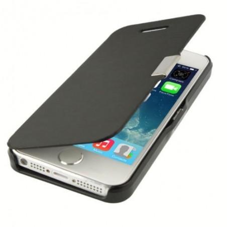 Etui Magnétique pour iPhone 5 Noir