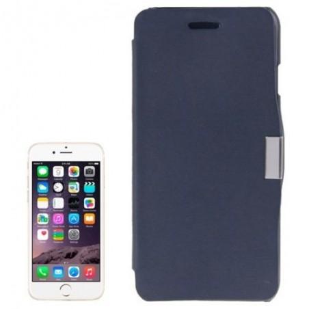 Étui à Clapet Horizontal magnétique pour iPhone 6/6S Bleu Foncé