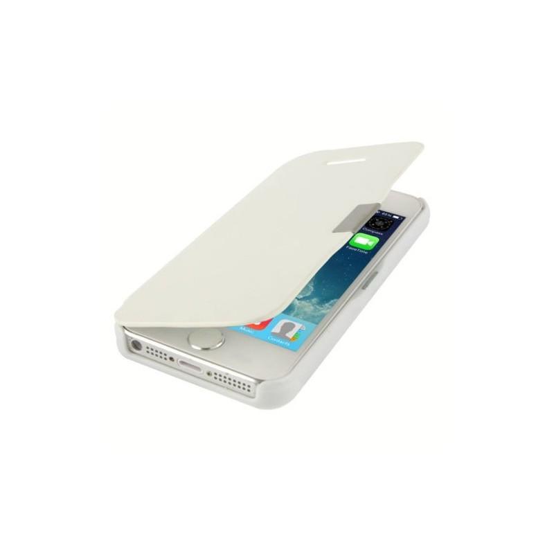Etui Magnétique pour iPhone 5 Blanc