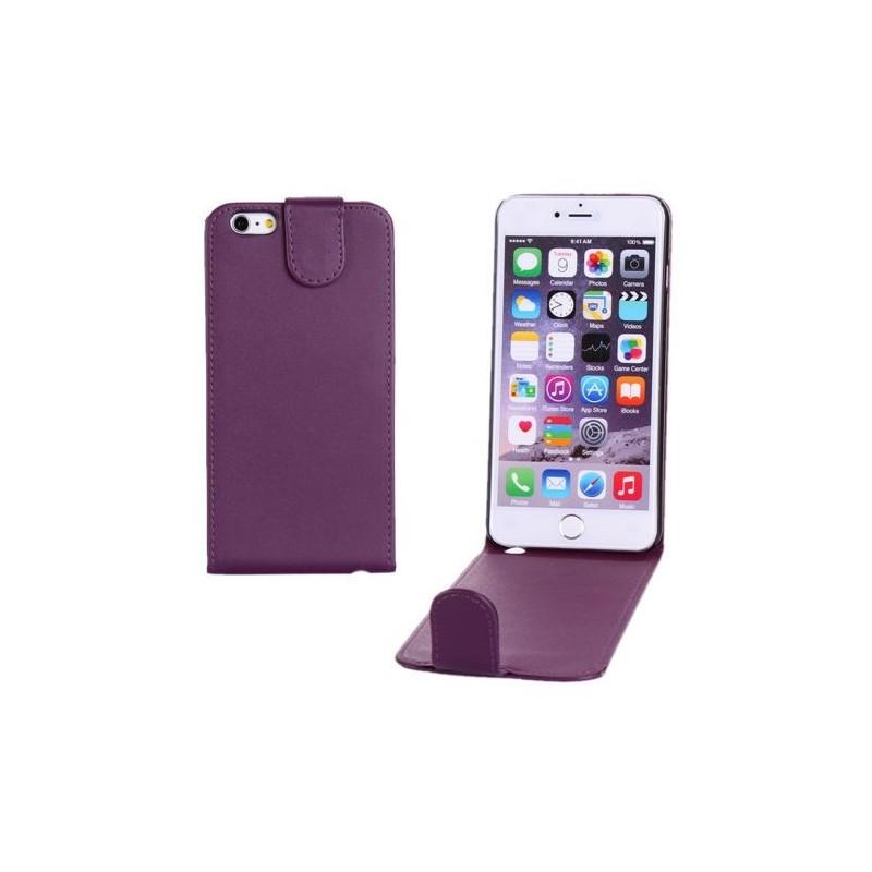 Étui à Clapet Vertical pour iPhone 6/6S Plus Violet