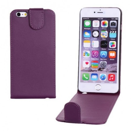 Étui à Clapet Vertical pour iPhone 6/6S Plus Violet
