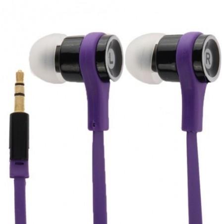 Écouteurs Noodle Intra Auriculaires 3.5mm 1.1m Violet