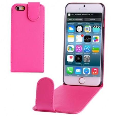 Étui à Clapet Vertical magnétique pour iPhone 6/6S Magenta