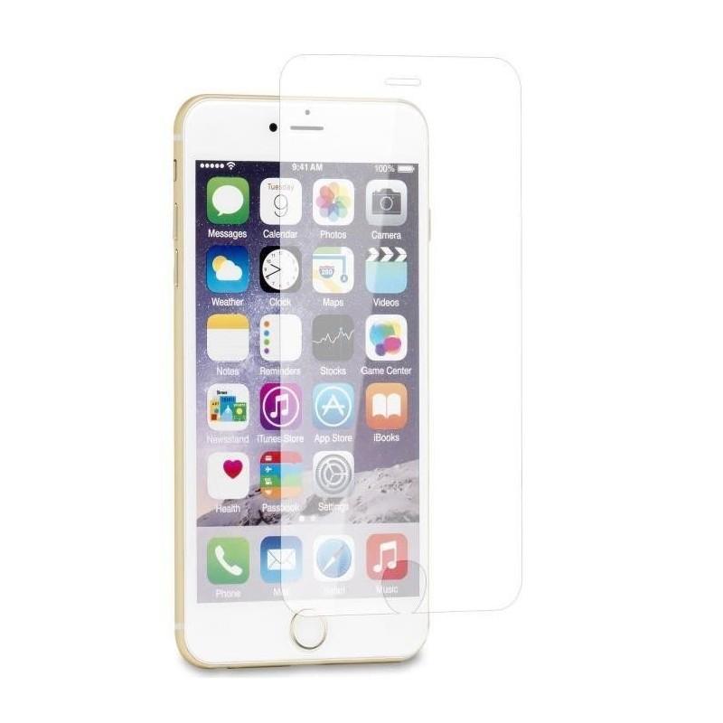 1 Verre Trempé Transparent iPhone 6-6s