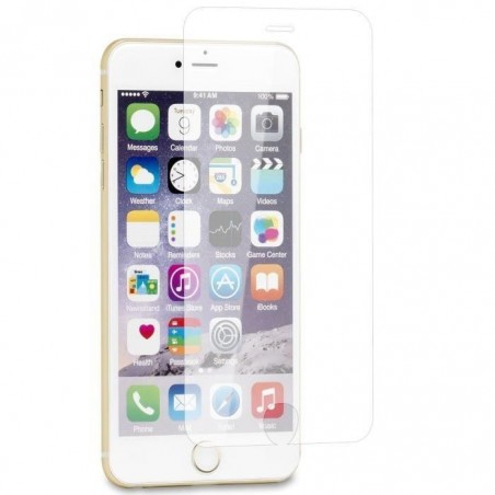 1 Verre Trempé Transparent iPhone 6, 6s, 7 et 8