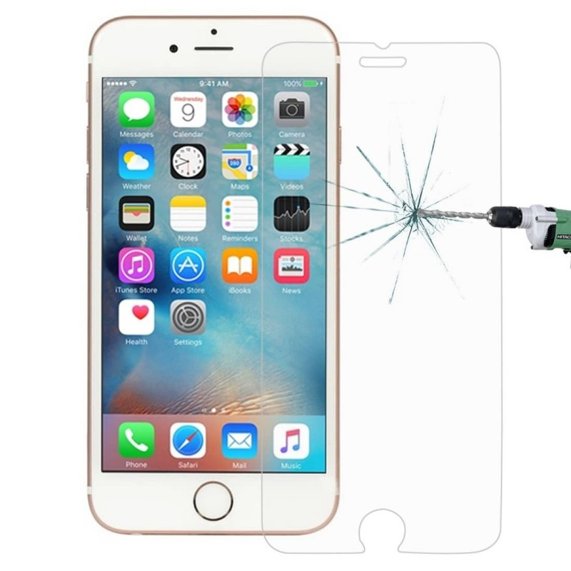 1 Verre Trempé iPhone 6 Plus-6s Plus Transparent