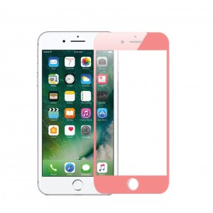 1 VERRE TREMPE iphone 6, 6s et 7 Rose