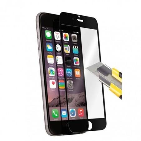 1 Verre Trempé iPhone 6 et 6s Noir 4D