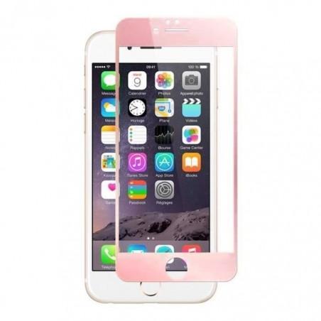 1 Verre Trempé iPhone 6 Plus et 6s Plus Rose 4D