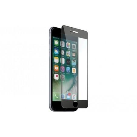 1 Verre Trempé iPhone 7-8 Plus Noir Intégrale
