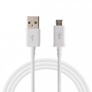 1 Cable Micro Usb Blanc
