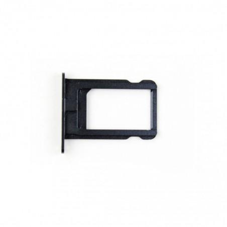 Tiroir Carte Sim iPhone 5S-SE Noir