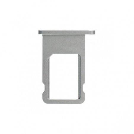 Tiroir Support Sim pour iPhone 6 Argent