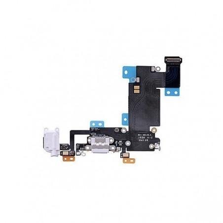 Nappe jack écouteur + connecteur de charge iPhone 6s Gris