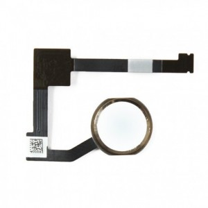 Bouton home + nappe iPad 6/ Air 2 Or