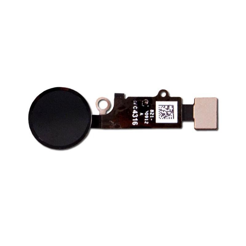 Bouton home noir compatible iPhone 7 & 7 Plus