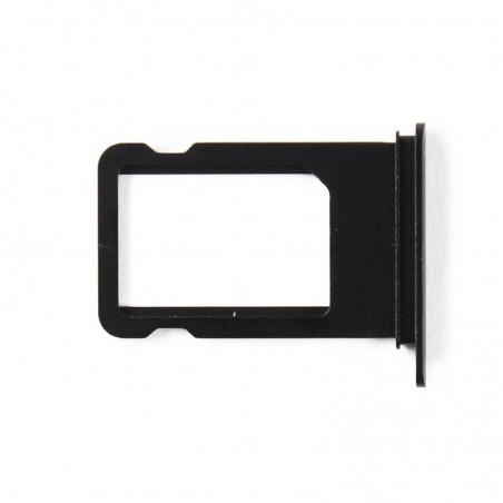 Tiroir sim noir pour iPhone 7