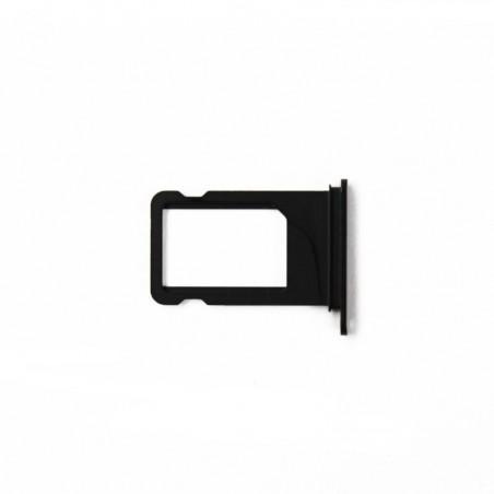 Tiroir sim noir pour iPhone 7 Plus