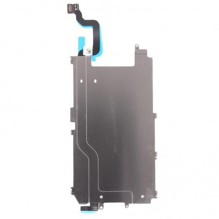 Plaque métal LCD + nappe bouton home pour iPhone 6