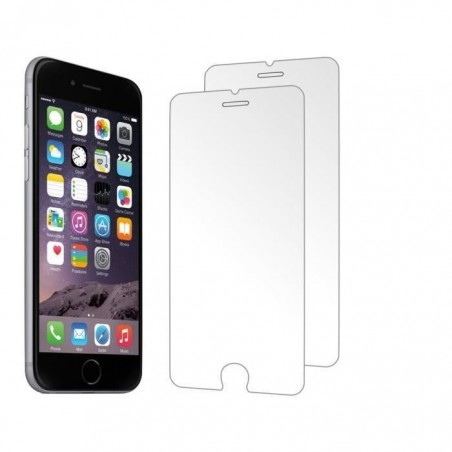 8 Verres Trempé Transparent iPhone 6, 6s, 7 et 8
