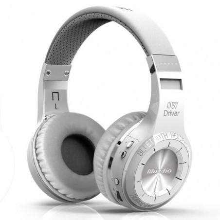 Casque Bluetooth Bluedio HT (Turbine) stéréo sans fil écouteur microphone intégré Blanc