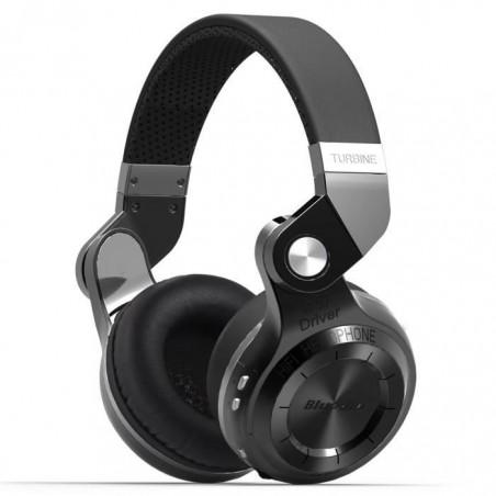 Casque Bluetooth Bluedio T2S stéréo sans fil écouteur microphone intégré Noir
