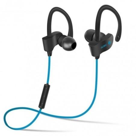 Casque Écouteurs Sport Earphone Headphone Sans fil stéréo H5 Bleu